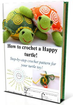 crochet turtle, turtle crochet pattern
