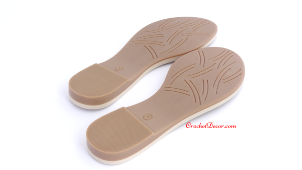 Masa Rubber Soles for Crocheted Shoes and Crocheted Boots