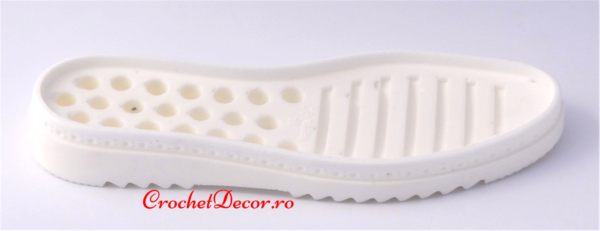 Cezara-Sole for Crocheted Shoes