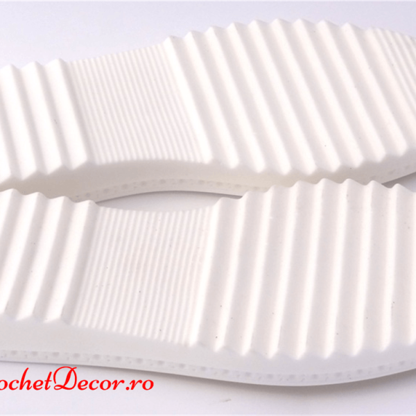 Cezara Soles for Crocheted Sandals and Crocheted Shoes