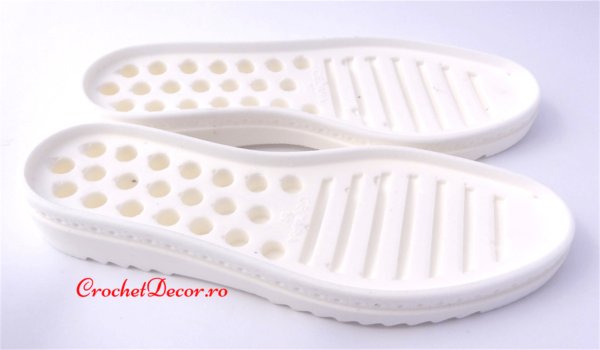 Crochet Rubber Soles for Shoes and Boots