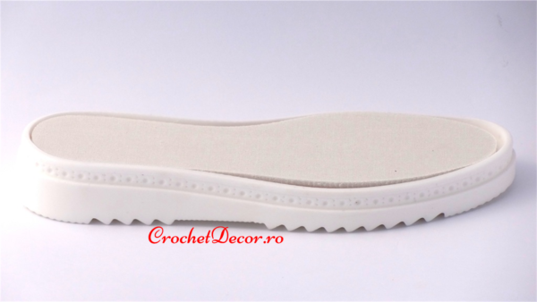 Soles for Crocheted Boots - Cezara PU sole