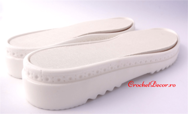 Soles for Crocheted Shoes and Boots